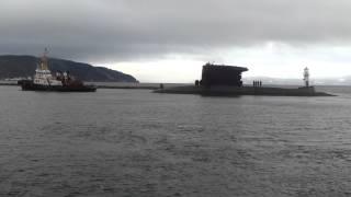 Ubåt i Nidelva