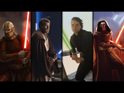 The History of the Lightsaber: Star Wars School
