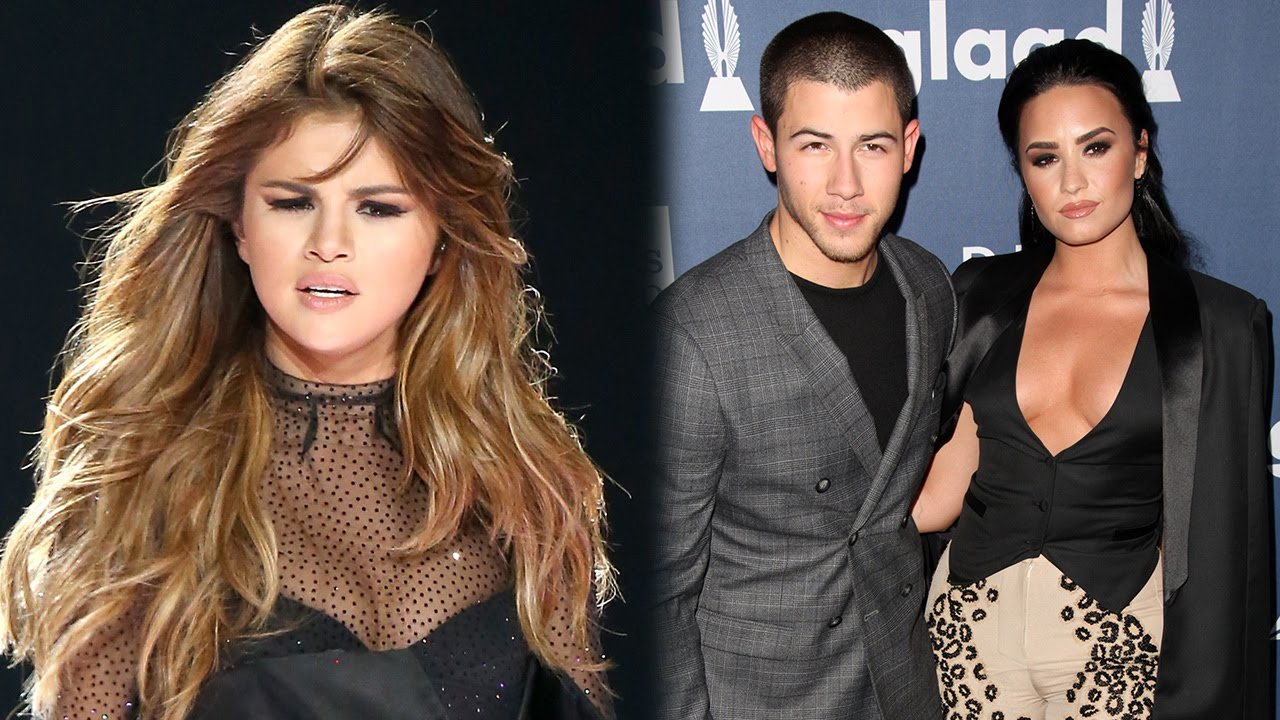 Selena Throws Shade At Demi Lovato Nick Jonas During Meet Greet
