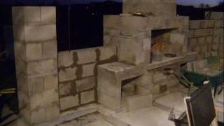 Gambar cover Building my Outdoor Fireplace and Patio surrounding Wall