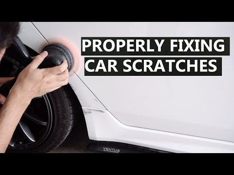 How to PROPERLY Repair Scratches on Your Car – The Professional Way