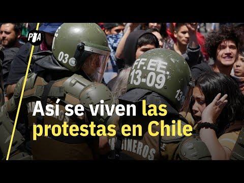 Fuimos a Chile para cubrir las protestas y la crisis; ¿habrá nueva Constitución?