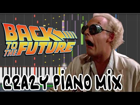 Crazy Piano! BACK TO THE FUTURE THEME