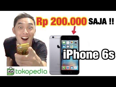 COBA BELI iPhone 6s Rp 200.000 SAJA DI Tokopedia !! インドネシアのネットショッピングで2000円のiPhone 6s買ってみた!!