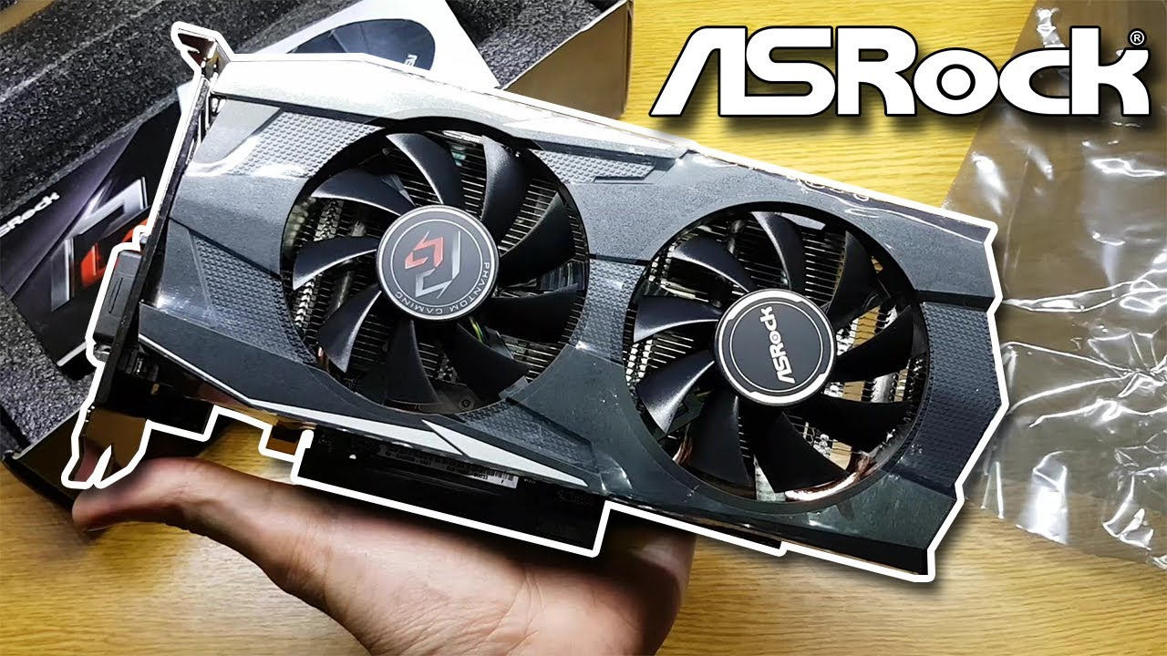UNBOXING Radeon RX570 Phantom Gaming D 8Gb OC ASROCK + COLOCACIÓN