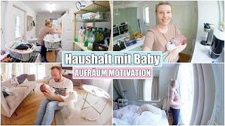 Aufräumen mit Baby 👶🏼 3 Wochen alt | Das erste Lächeln | Isabeau