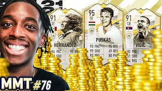 99 SHOOTING?!?! PRIME MOMENTS PUSKAS! IS HE WORTH 10 MILLION COINS💸💲💲🤑S2 - MMT#76