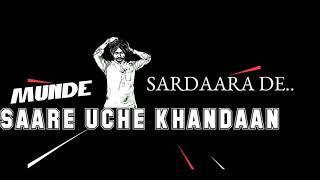 Yaaran Di Army Song Virasat Sandhu New WhatsApp status Punjabi