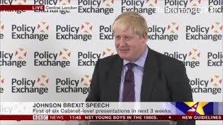 Boris Johnson Q&A Brexit shows our historic national genius