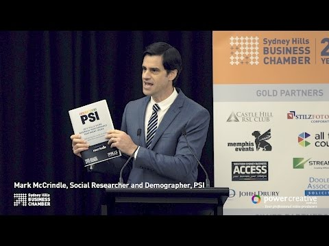 2017 Chairman's Lunch; Mark McCrindle PSI 2017 - Full Presentation Recording