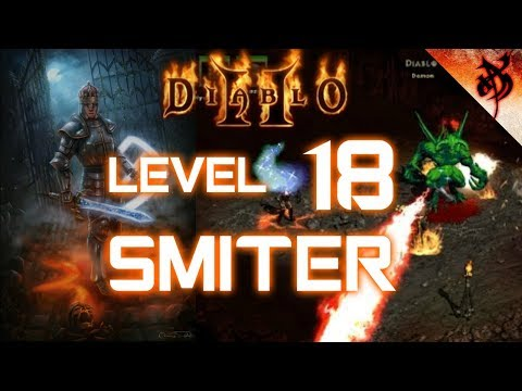 World First Level 18 paladin vs Uber Diablo - Diablo 2