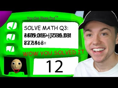 ANSWERING THE 3RD QUESTION IN BALDIS BASICS