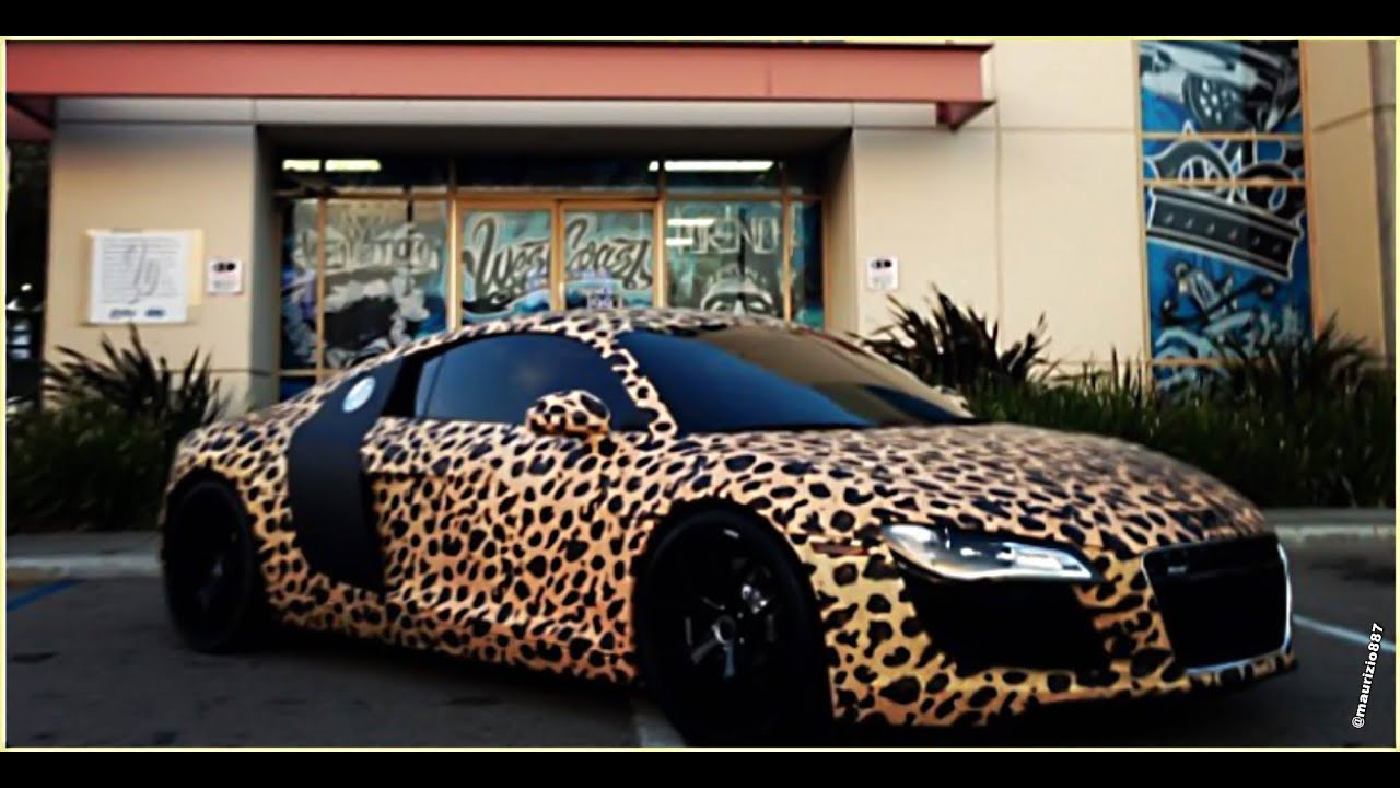 Justin Bieber S Leopard Print Car Kiss Breakfast Takeaway Youtube