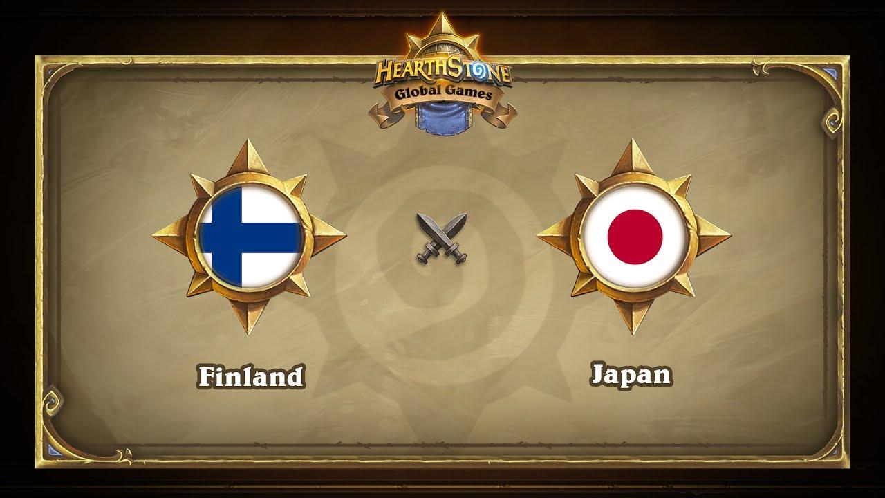 Финляндия vs Япония | Finland vs Japan | Hearthstone Global Games (06.06.2017)