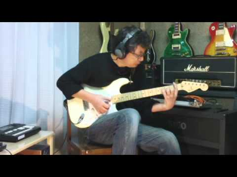 Tears In Heaven - Eric Clapton Solo Guitar cover with Fender Eric Clapton Signature Stratocaster