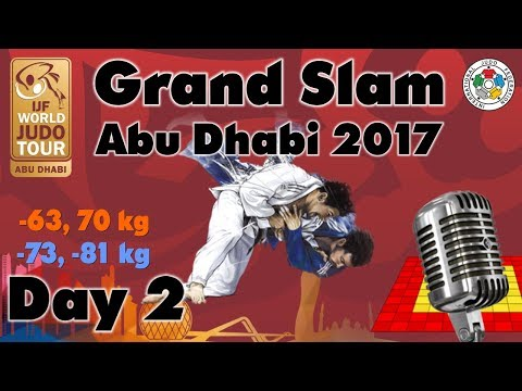 Judo Grand-Slam Abu Dhabi 2017: Day 2