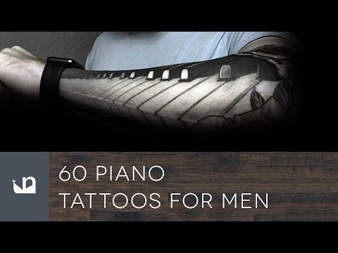 60 Piano Tattoos For Men