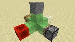 Minecraft Snapshot 14w18a Overview -- Sticky Slime Block Pistons