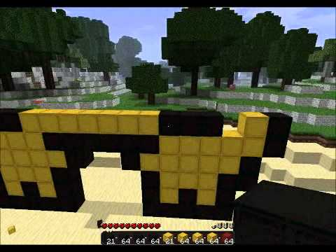 how to make a small pikachu in minecraft