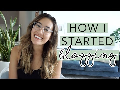 How I Started Blogging (My FIRST Official YouTube Video!) | OM & THE CITY