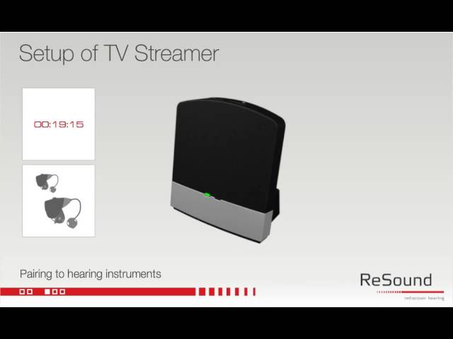 Setting up your ReSound Unite TV Streamer 2