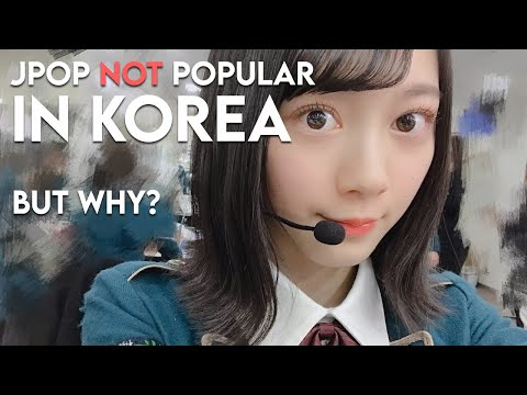 Why J-pop Is Not Popular In Korea