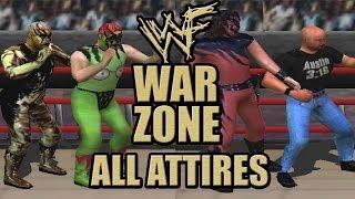 WWF War Zone - All Attires