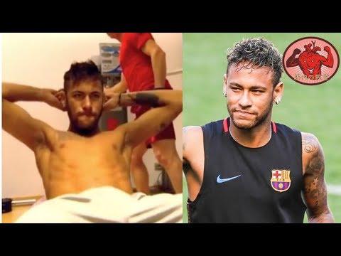 ネイマールの筋トレ!腹筋,体感,筋膜リリース Neymar【筋トレ】