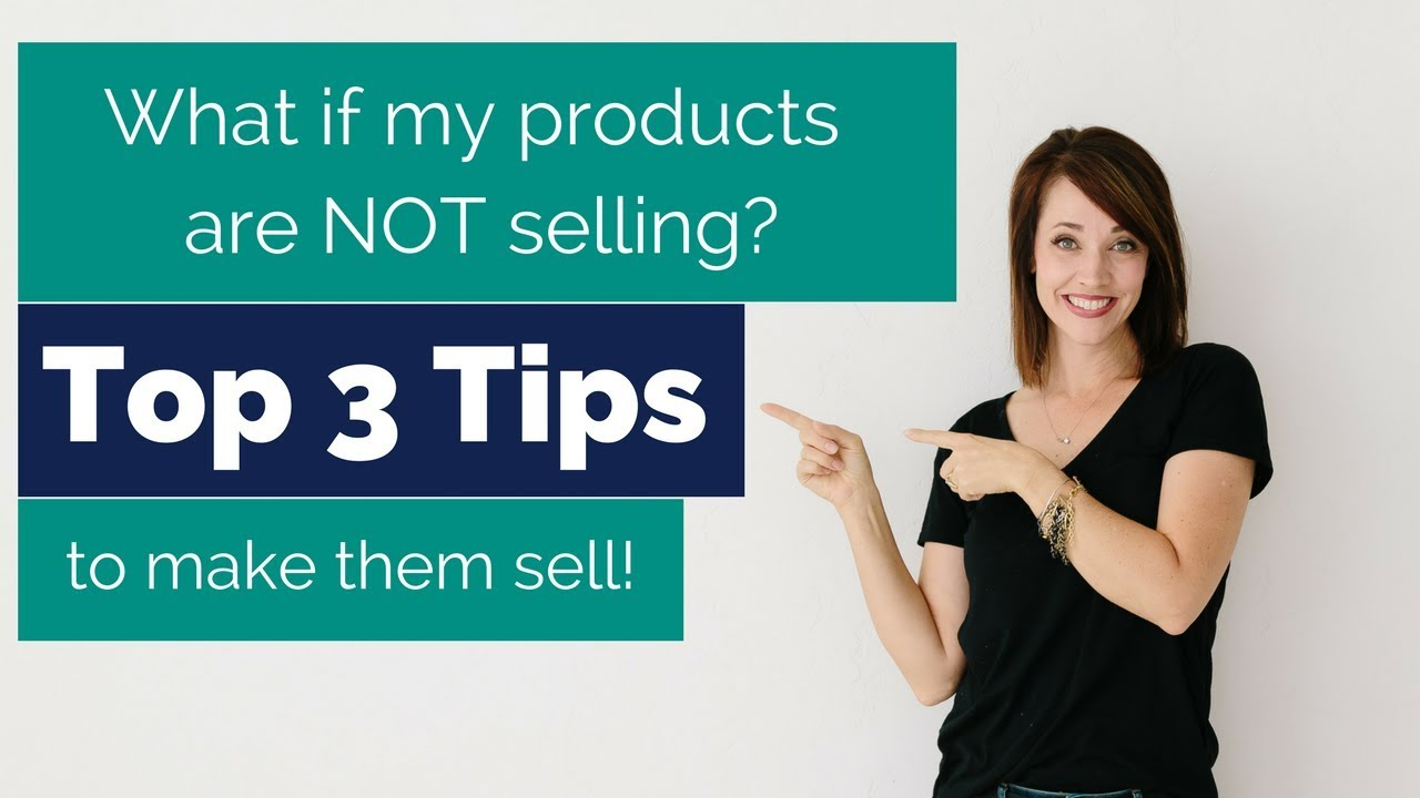 What to do if your products don\'t sell? | Alison J Prince - YouTube