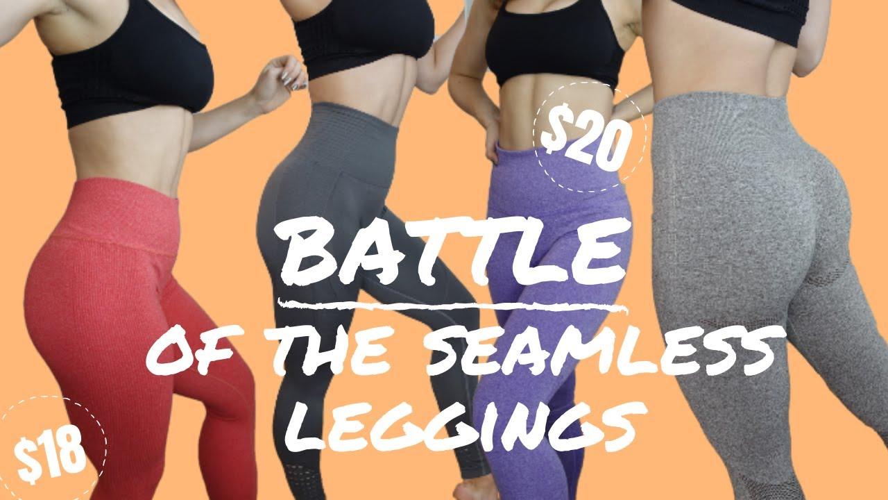 b57681b33d6c6 ALL of the Best $20 Seamless Leggings on AMAZON | Battle of the Leggings  Round 2