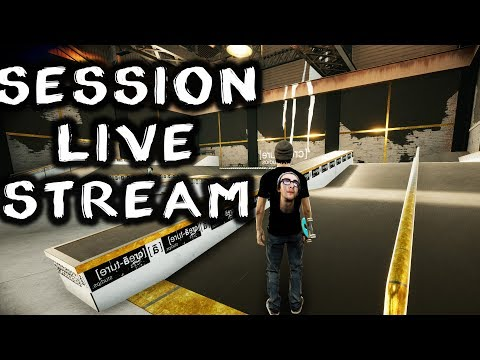 New Skateboarding PC Game - Session Gameplay Live Stream