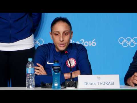 The U.S. Women's Basketball Team Speaks To The Media In Rio