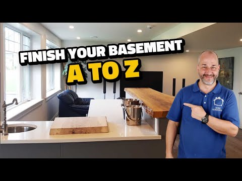 DIY How To Finish A Basement A To Z