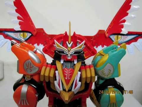 Hyakuujuu Sentai Gaoranger Gao Icarus Youtube