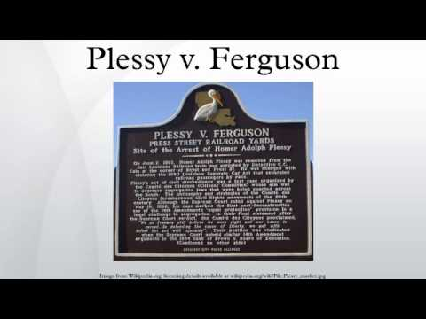 plessy v ferguson a controversial case Plessy v ferguson apush questions show up frequently on the exam read on for everything you need to know about this landmark supreme court case.