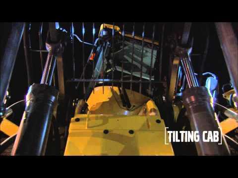 Volvo Construction Equipment Wheel Loaders L180H HL Tilting Cab - YouTube