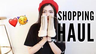 近期购物分享丨Shopping haul丨refa洗脸仪 丨眼影丨妆前丨大衣丨贝雷帽丨YesStella