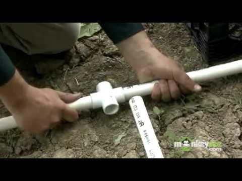 La construcción de un invernadero Construcción del marco de PVC ...