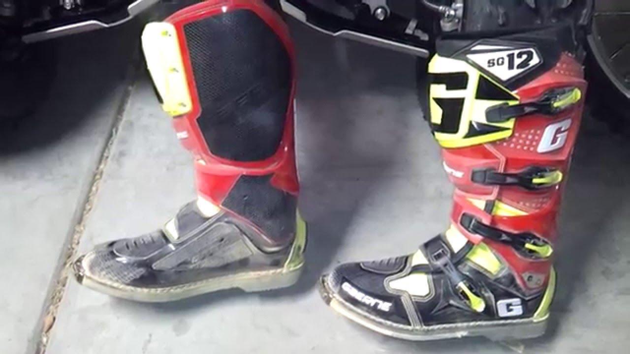 Gaerne Boots Sg12 >> Gaerne Sg12 - YouTube