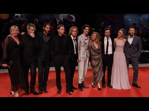 Lily Rose Depp, Timothee Chalamet on the red carpet for The King in Venice