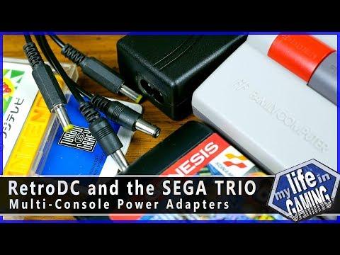 RetroDC और SEGA तीनों - बहु कंसोल पावर एडेप्टर / गेमिंग में मेरी ज़िंदगी thumbnail