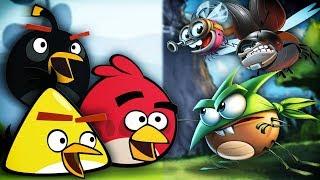 Angry Birds vs. Best Fiends - Rap Battle