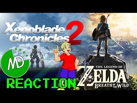 Xenoblade Chronicles 2 and Breath of the Wild Switch Reaction | Murph Dat Gaming