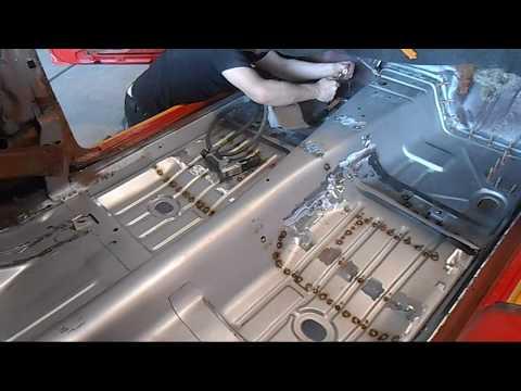 1969 Camaro Floor Pan Replacement