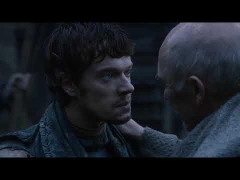 Game of Thrones/Best scene/Alfie Allen/Isaac Hempstead Wright/Donald Sumpter/Natalia Tena/Osha