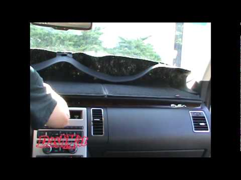 How To Install A DashMat Brand Dash Cover