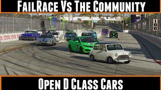 FailRace Vs The Community Open D Class Cars