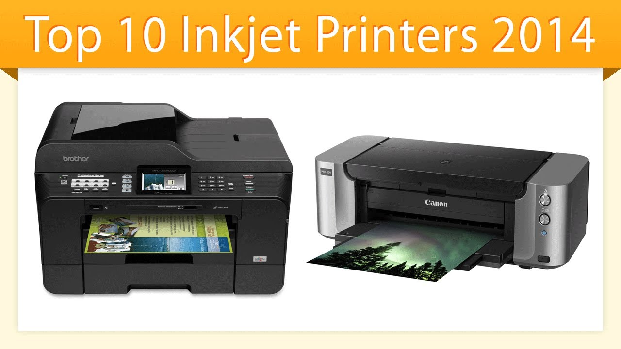 Top Ten Inkjet Printers 2014 | Best Inkjet Printer Review - YouTube