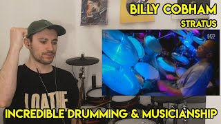 Drum Teacher reacts to Billy Cobham (STRATUS)
