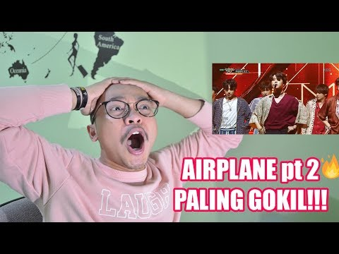 BTS AIRPLANE PT.2 & ANPANMAN LIVE REACTION ( KEREN PARAH!! )